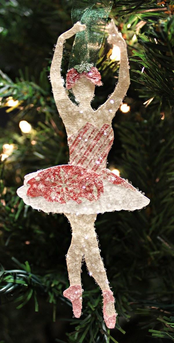Nutcracker Sugar Plum Fairy Christmas Crafts