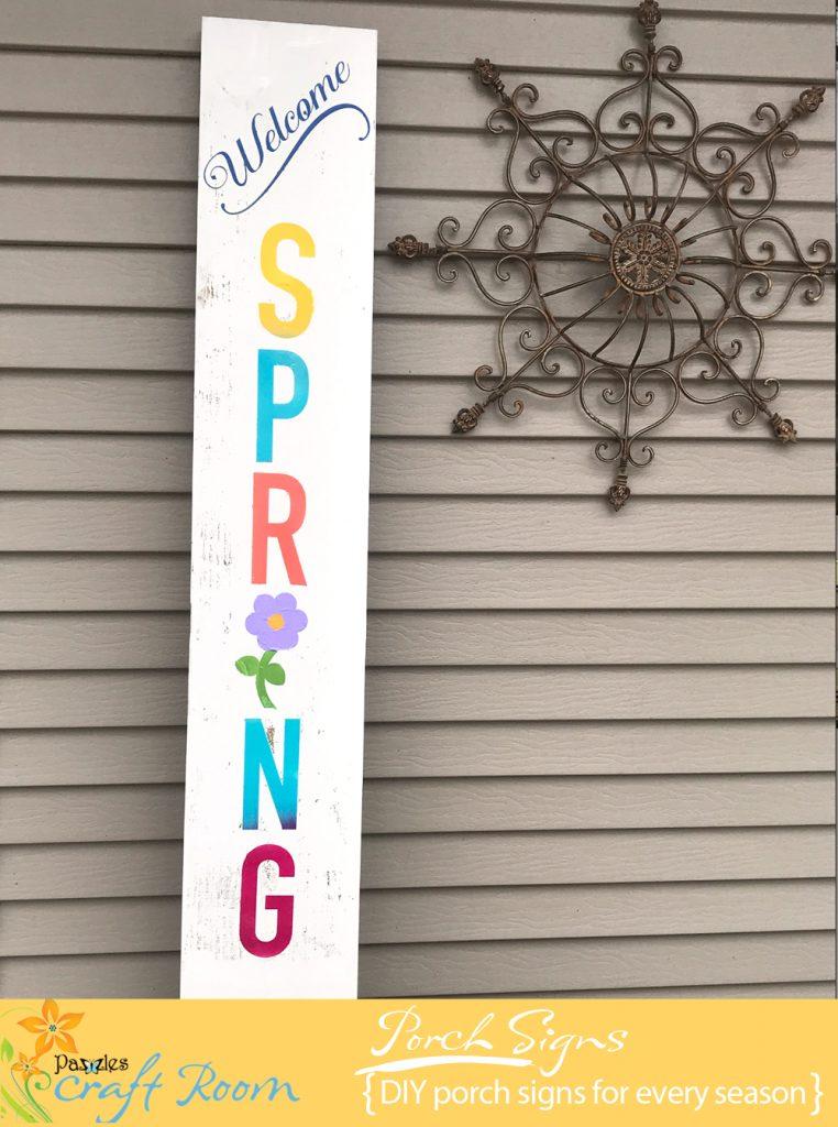 DIY Porch Board Signs Collection  Pazzles Craft Room