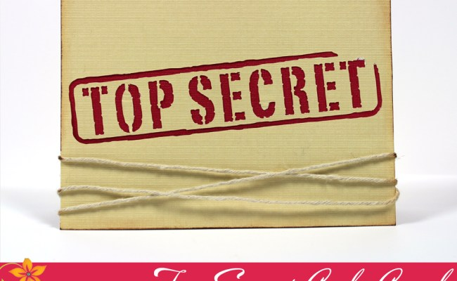 Top Secret Code Card Pazzles Craft Room