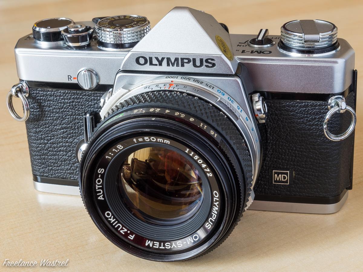 Olympus OM-1N + F.Zuiko 50mm f/1.8 Auto-S