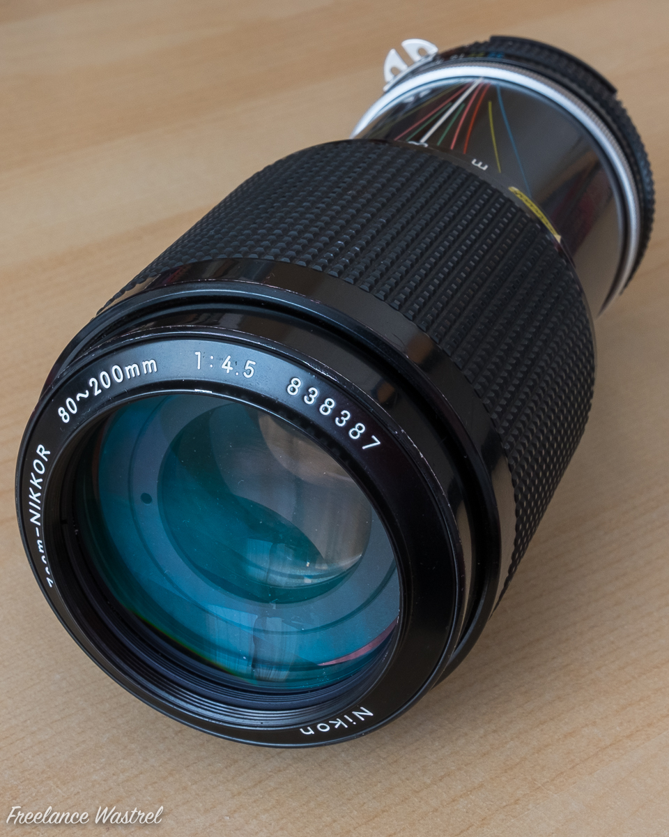 Zoom-Nikkor 80-200mm f4.5 (front)