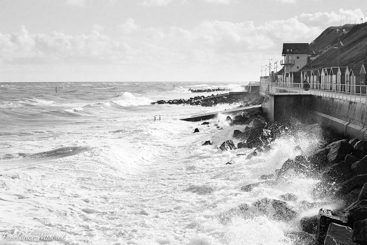 High Tide, Sheringham, October 2016