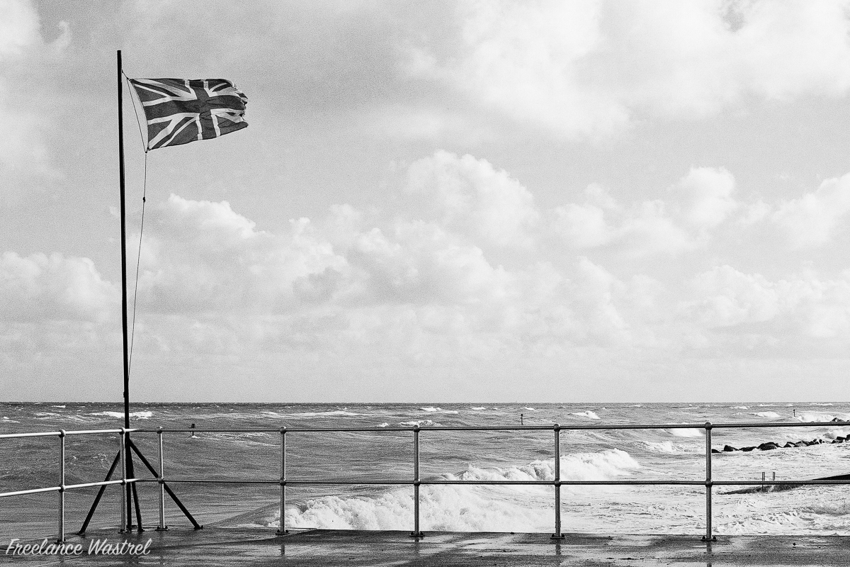 Union Jack, Sheringham, October 2016