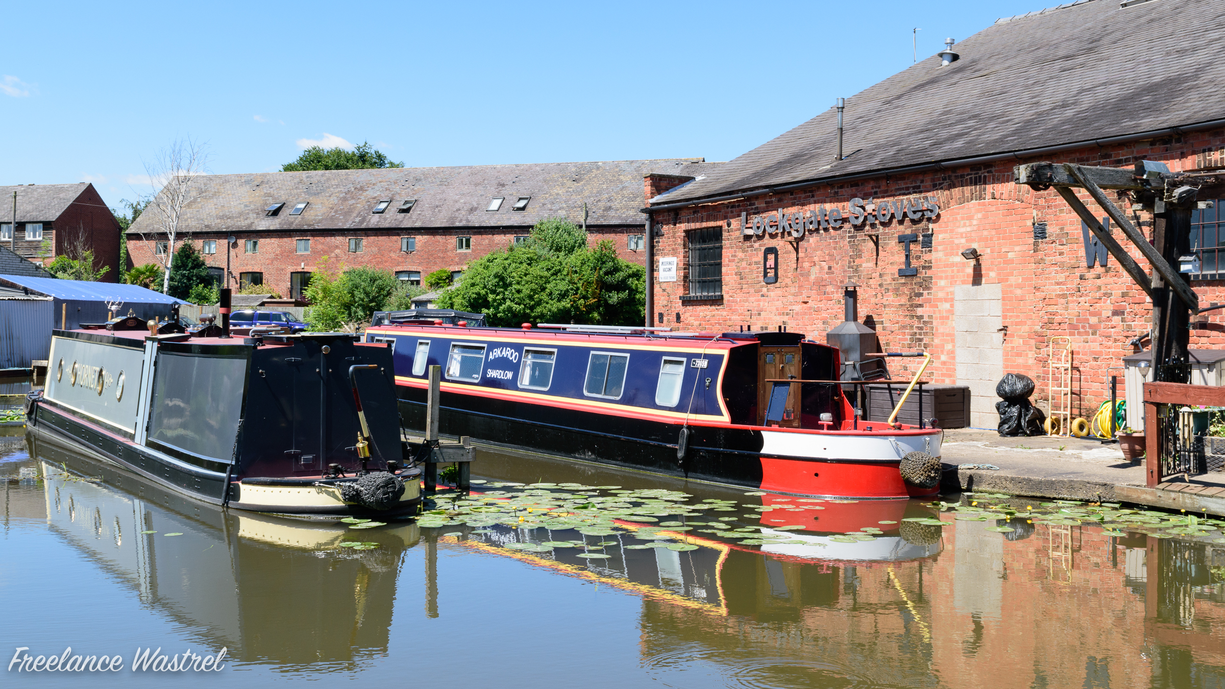 Narrow boats, The Wharf, Shardlow