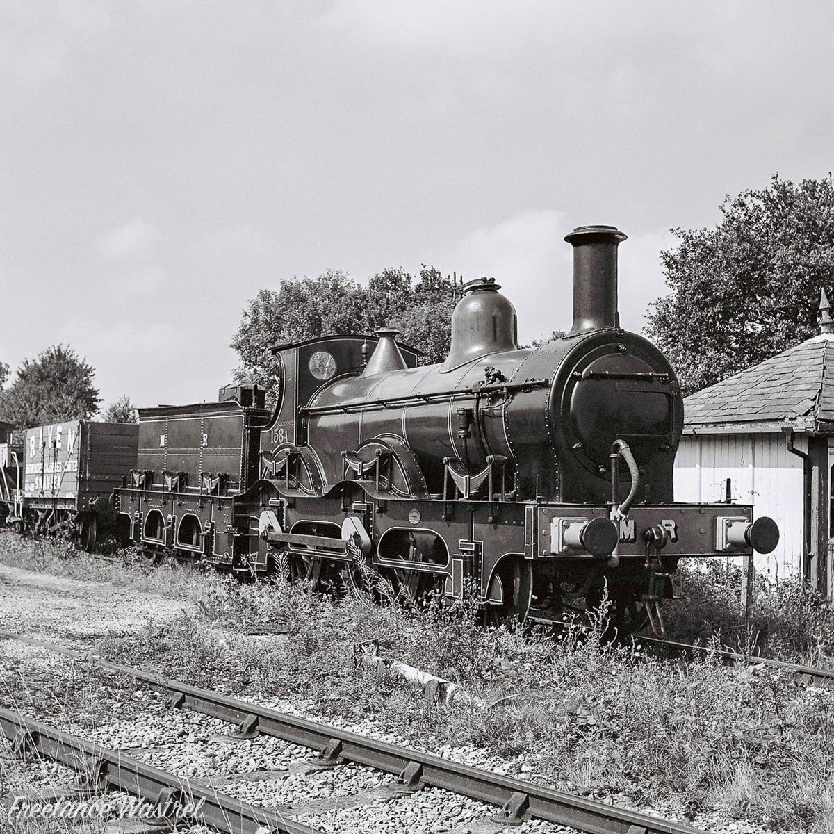 Midland Railway 156 Class 2-4-0 No.158A