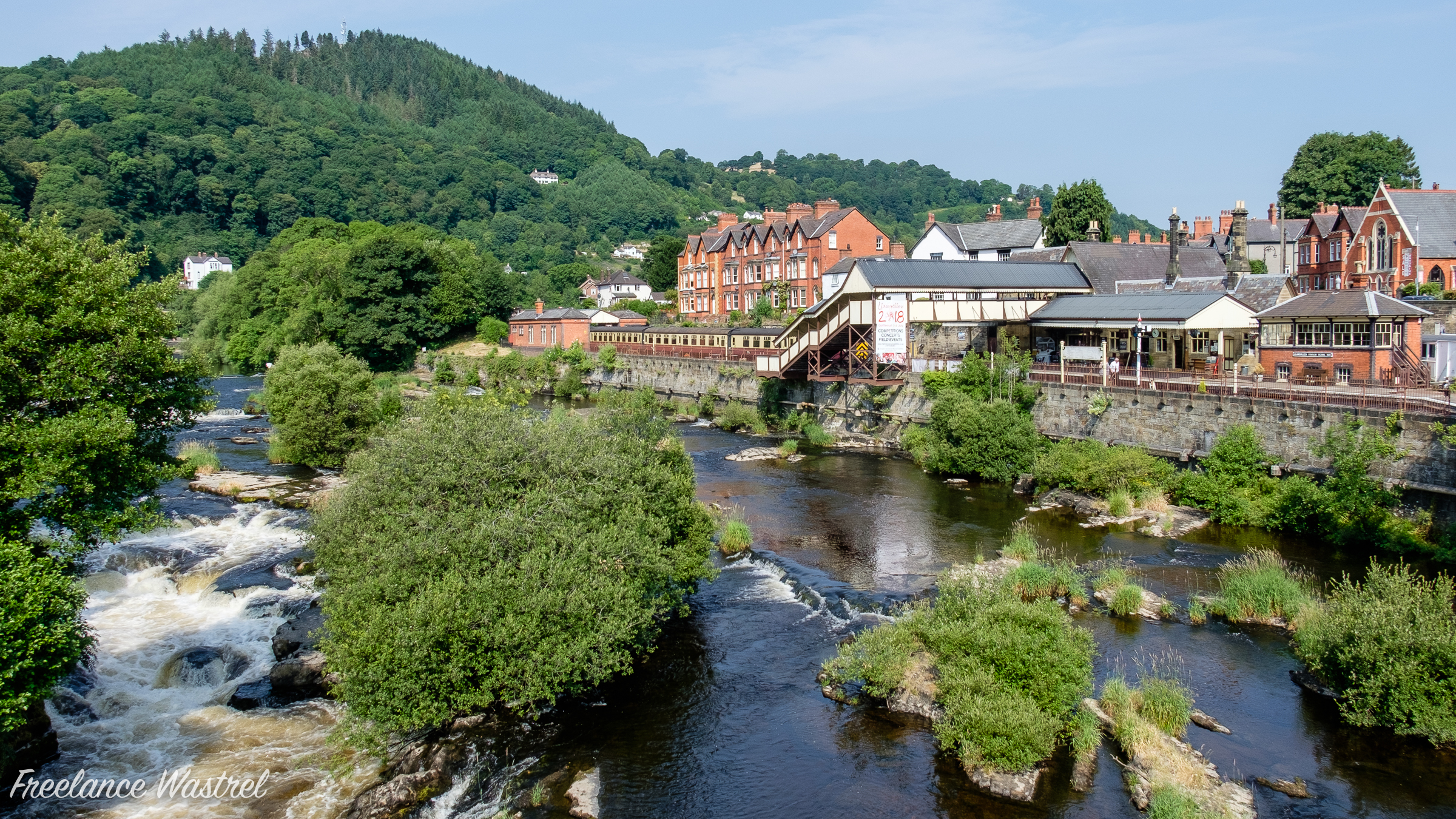 The River Dee at Llangollen