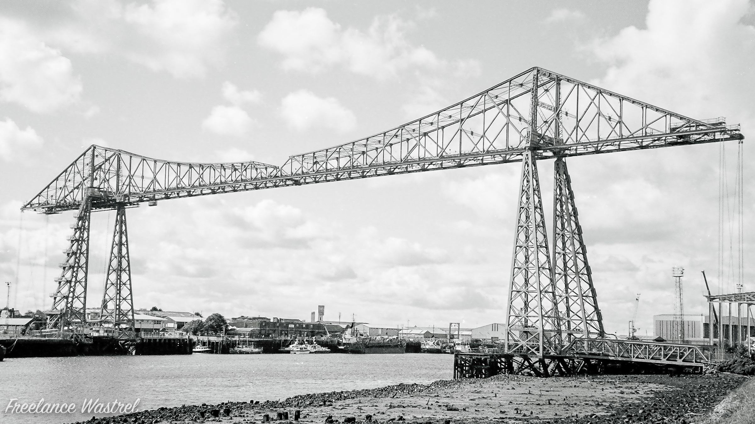 Tees Transporter Bridge, September 2017