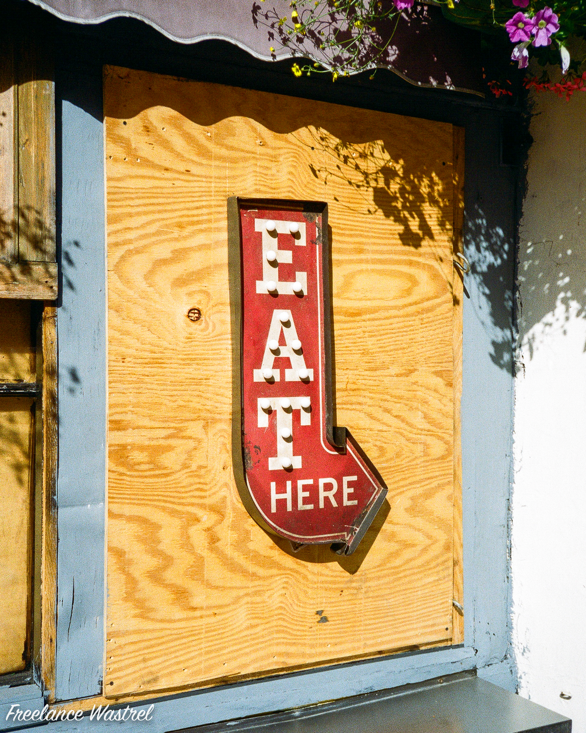 Eat Here, Brighton, July 2018