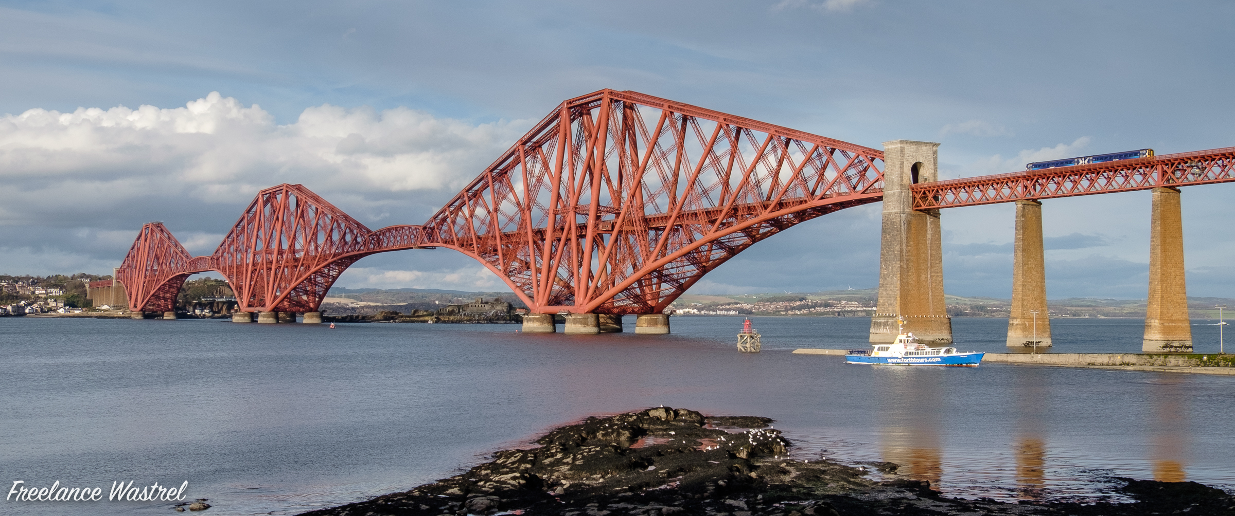The Forth Bridge, October 2018