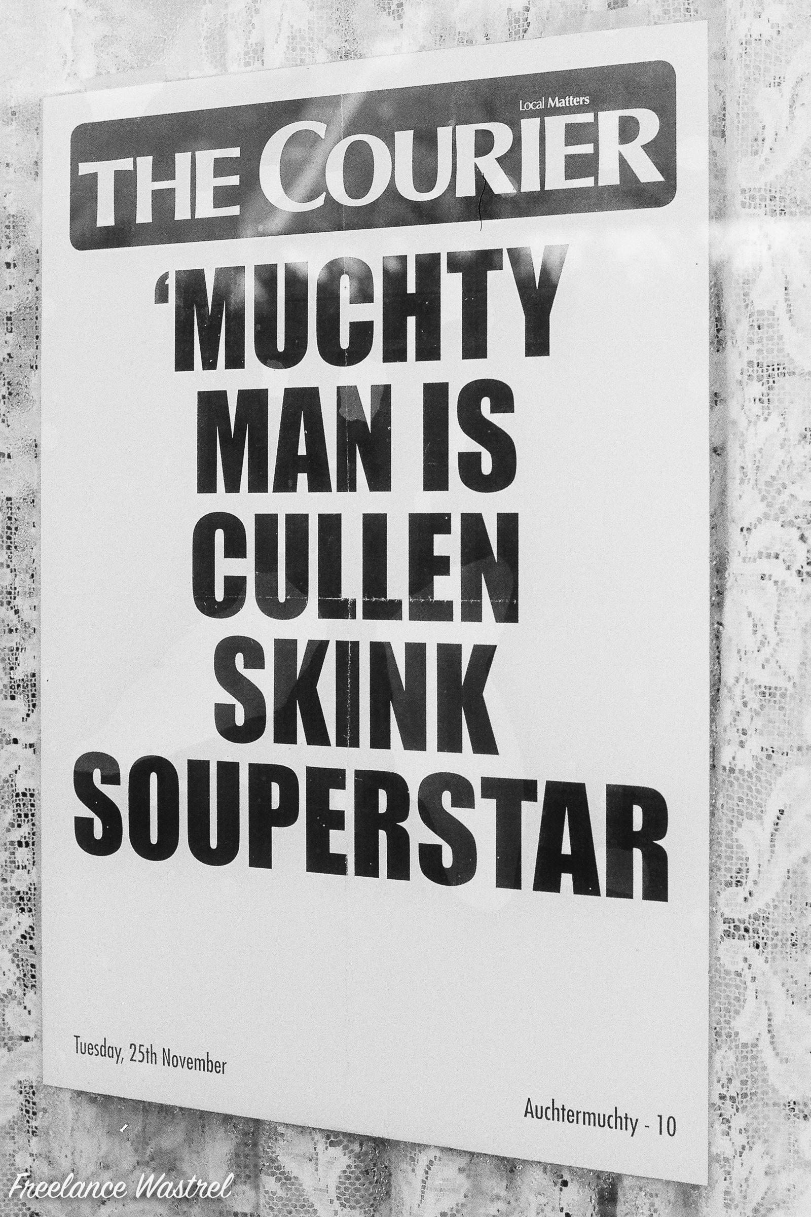 Muchty Man is Cullen Skink Souperstar