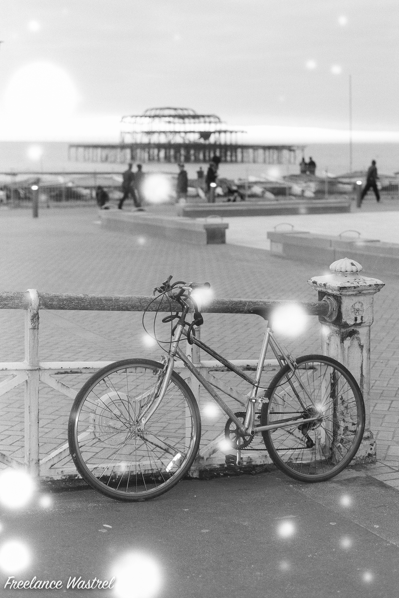 Brighton bicycle, December 2018