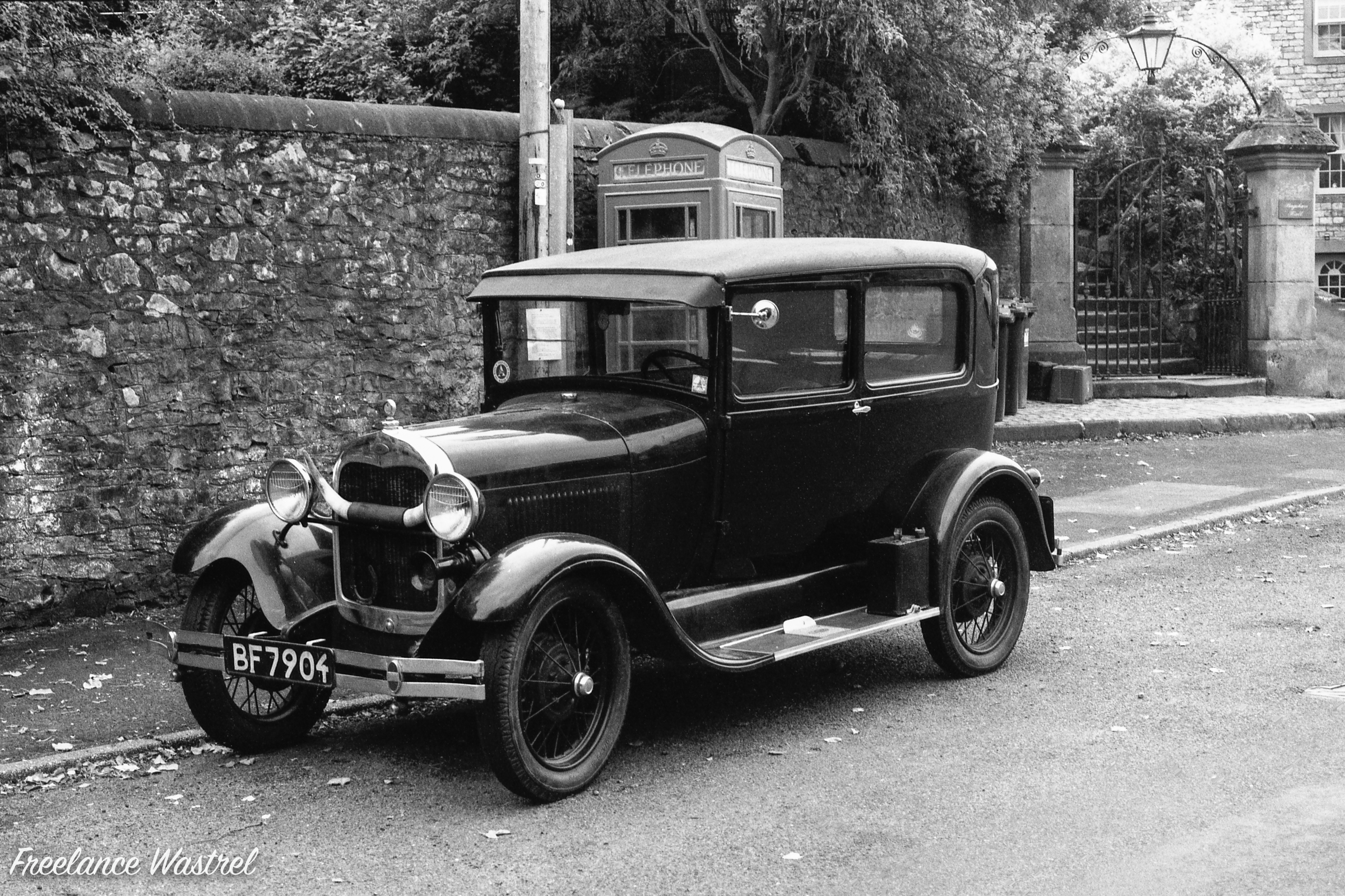 1929 Ford Model A, Tideswell, October 2018