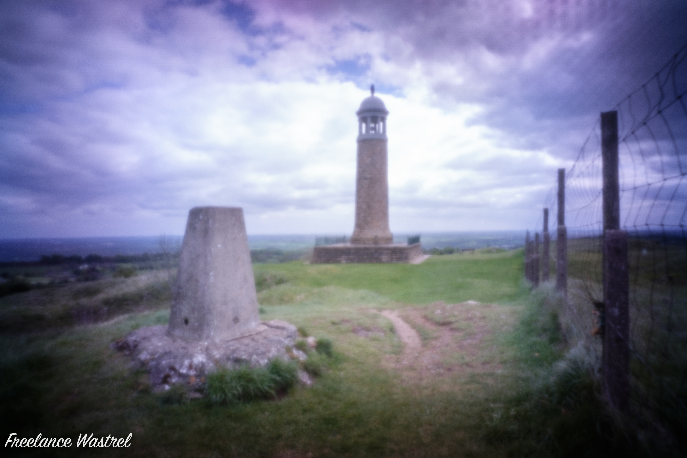 Crich Memorial Tower, April 2019