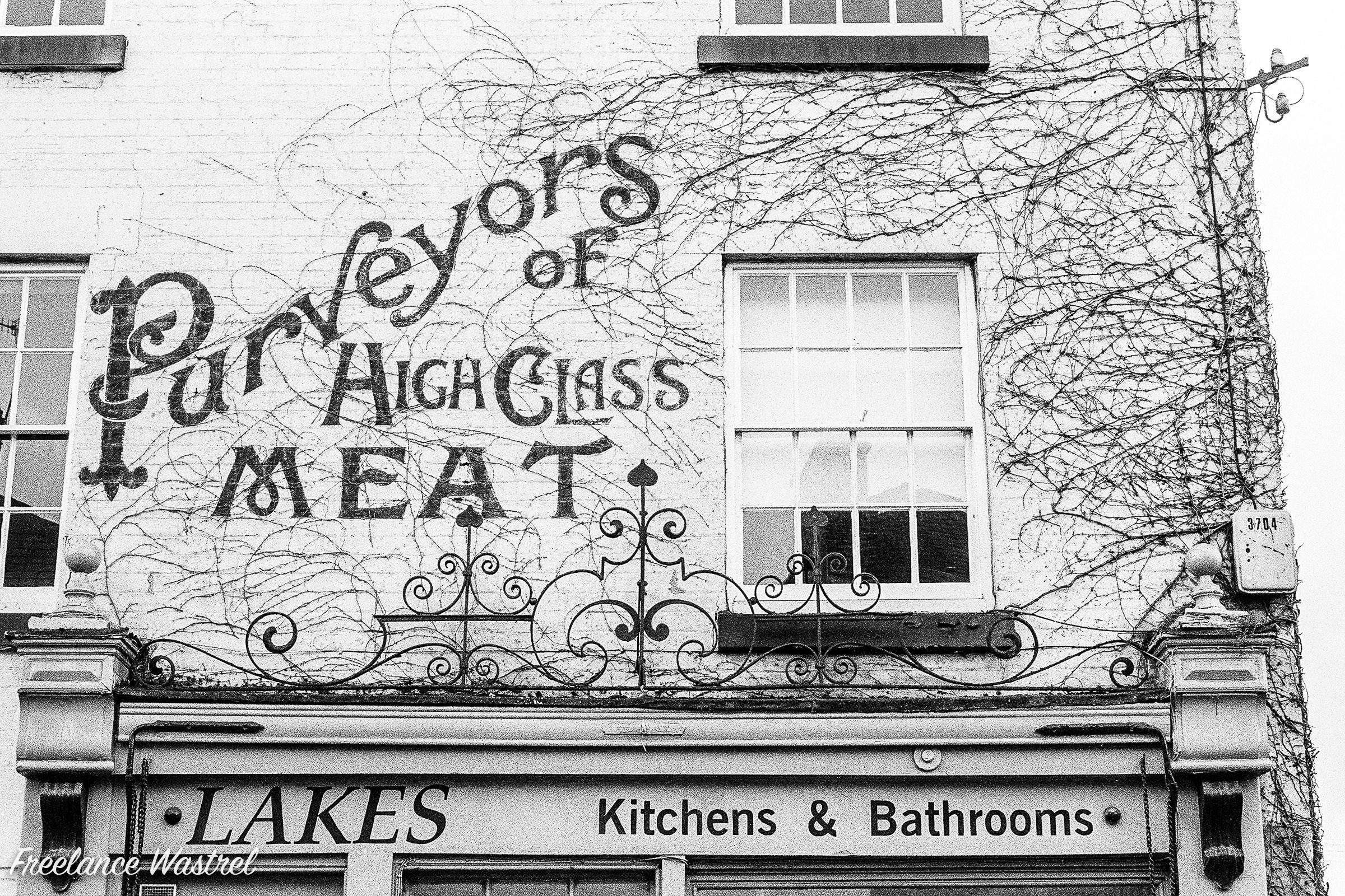 Purveyors of High Class Meat