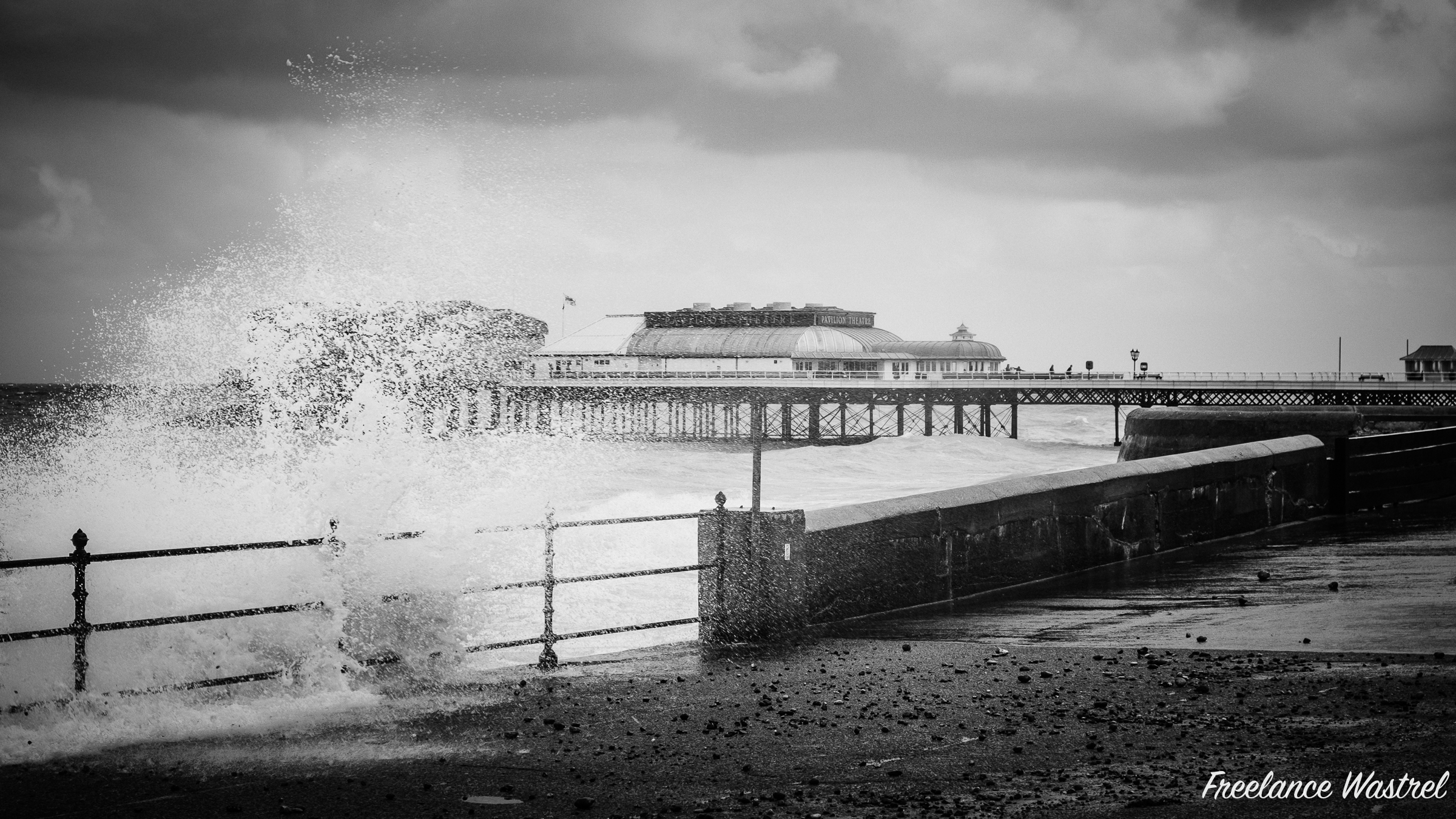 It's a bit wild out there! Cromer, September 2015.jpg
