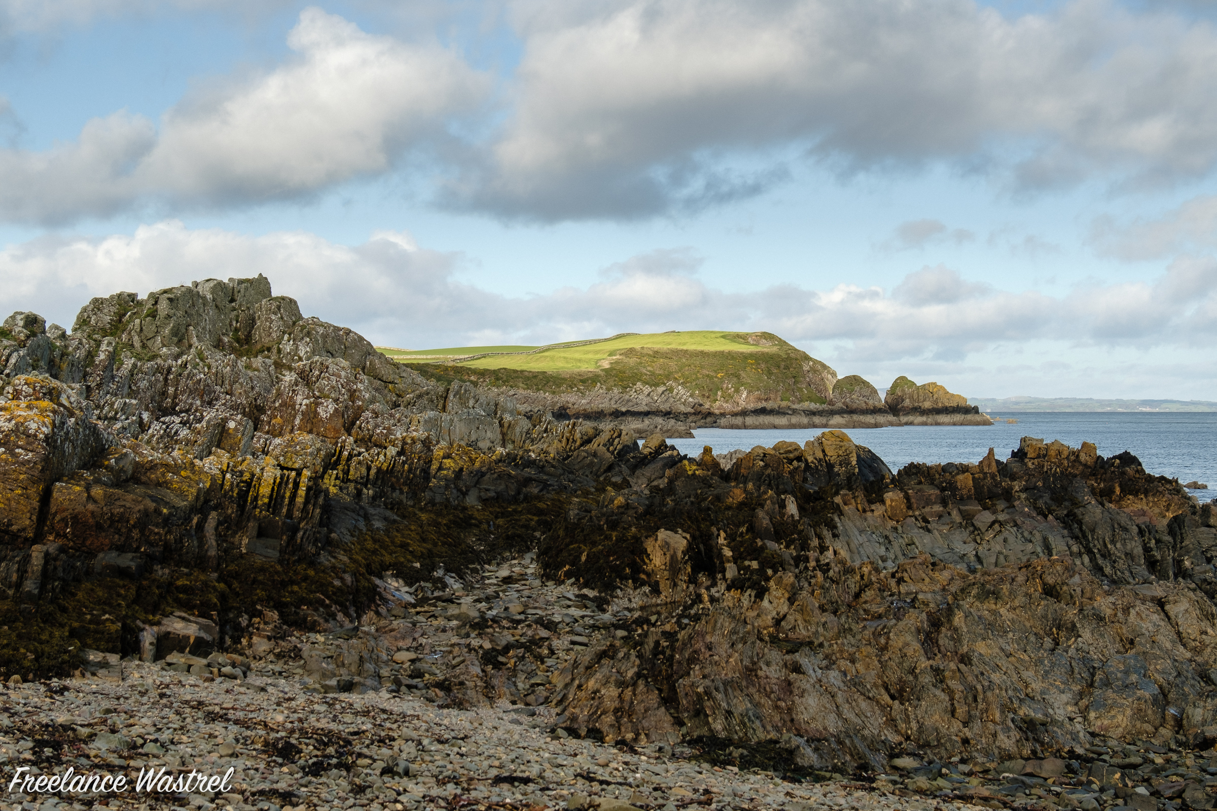 Stein Head from Isle Head, October 2019