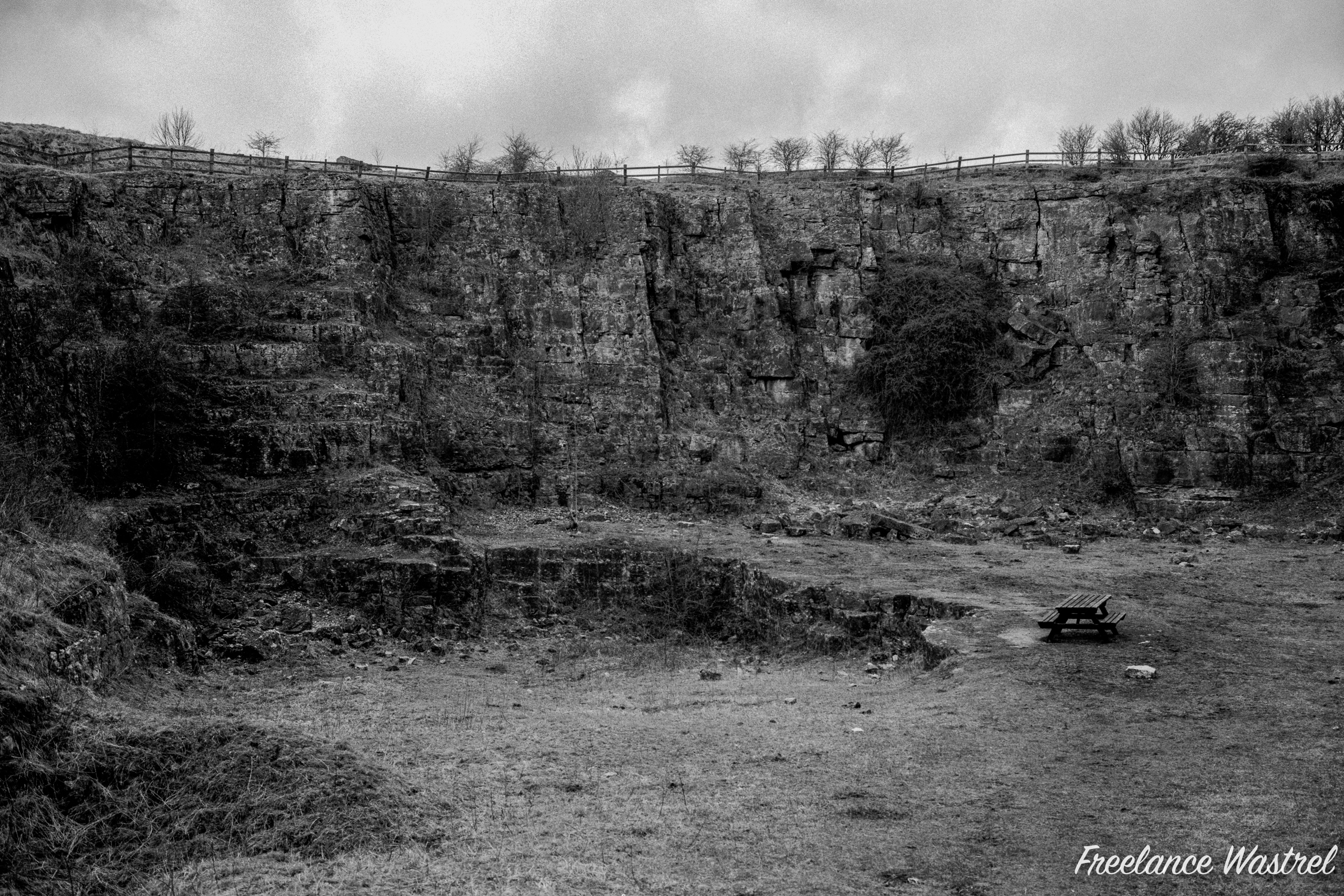 Redhill Quarry, January 2020