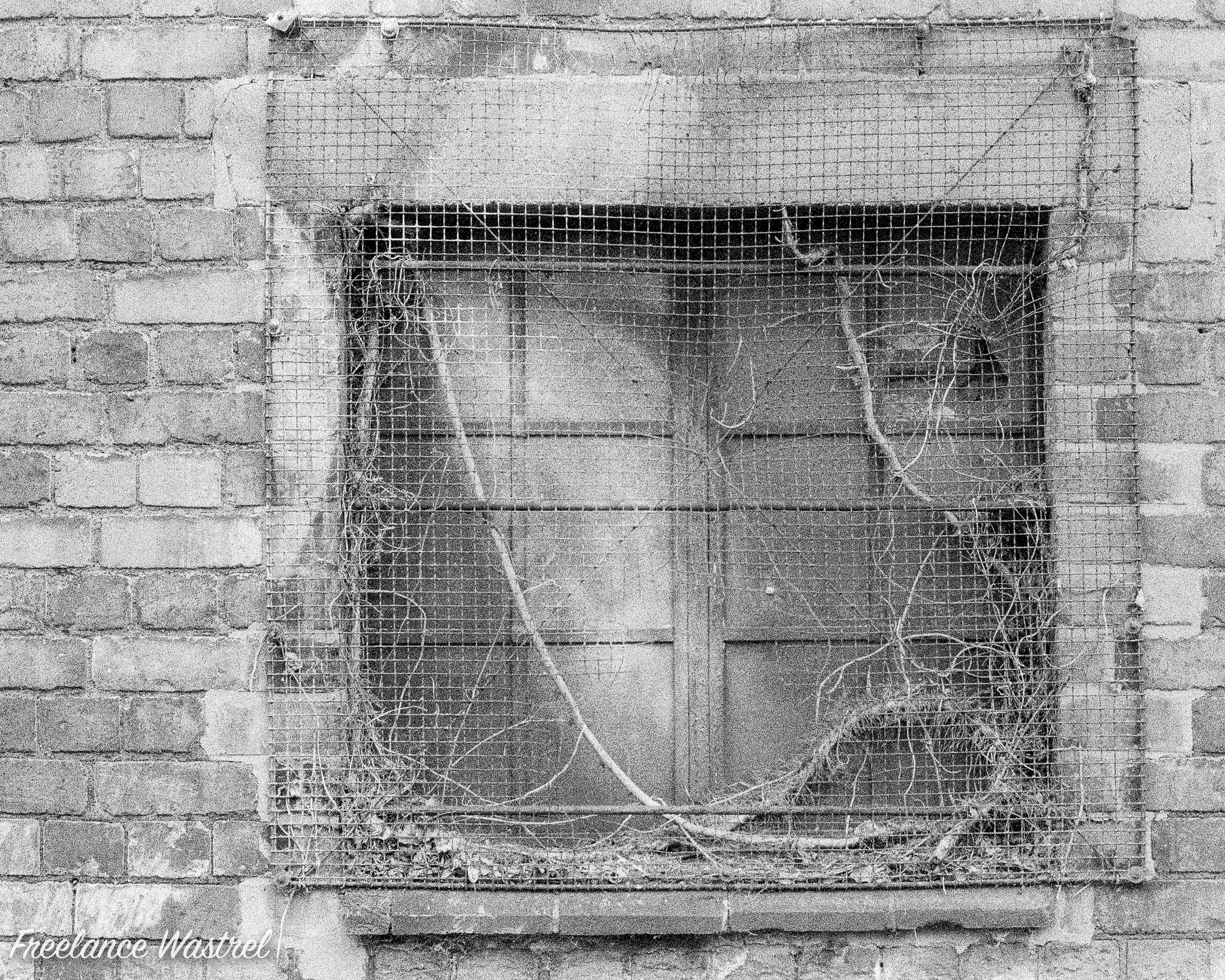 Barred window, Long Eaton