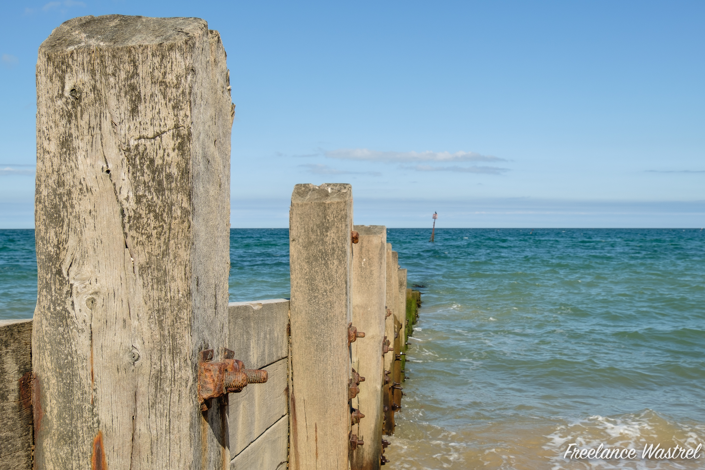Rusty Groyne Nuts