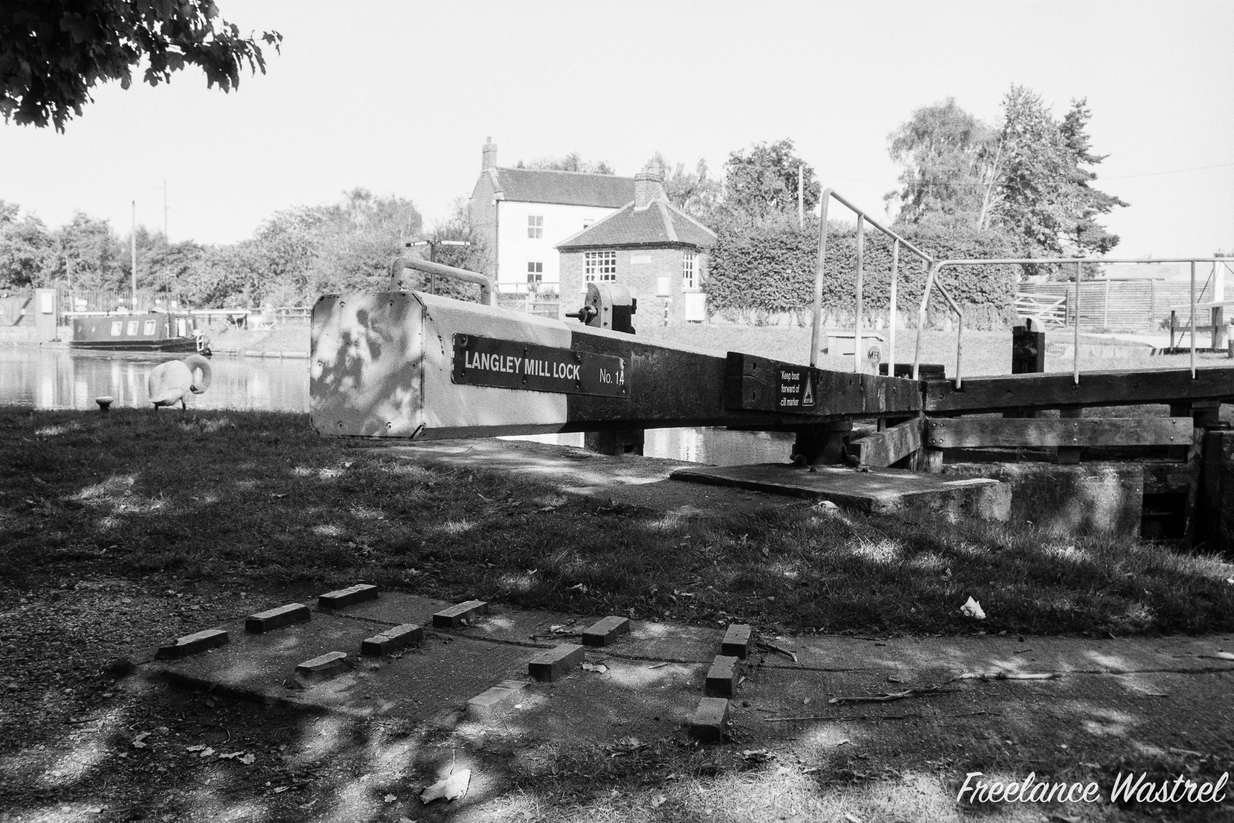 Langley Mill Lock No.14