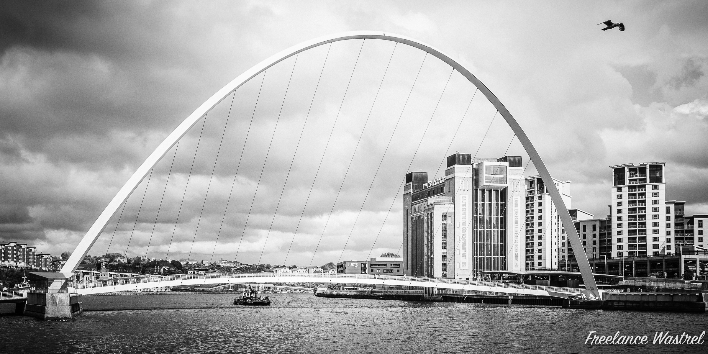 Gateshead Millenium Bridge, June 2015