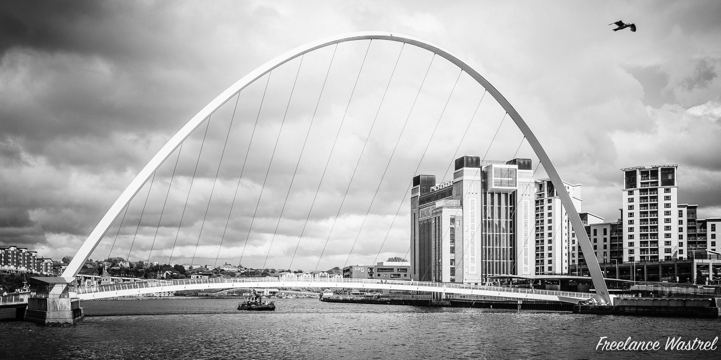 Gateshead Millenium Bridge, June 2015