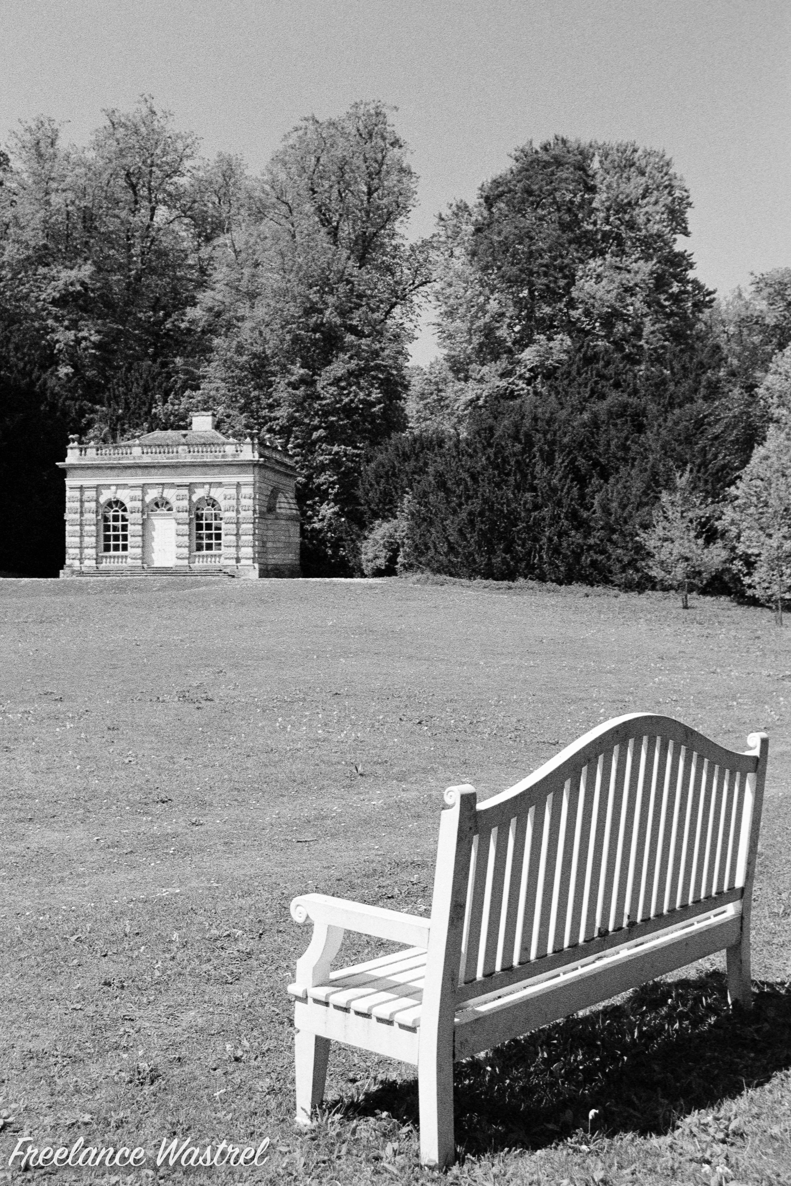 Palladian-style banqueting house, Studley Royal Water Garden