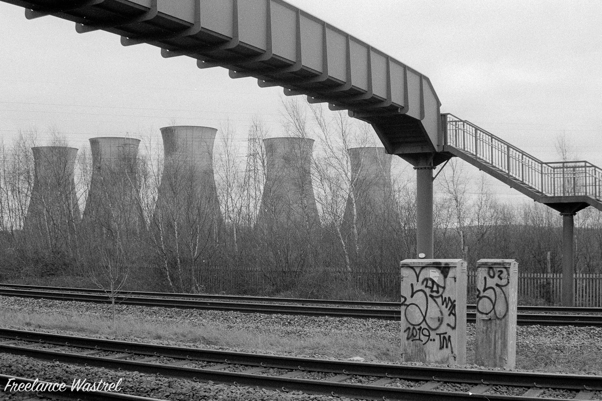 Willington Cooling Towers, January 2020