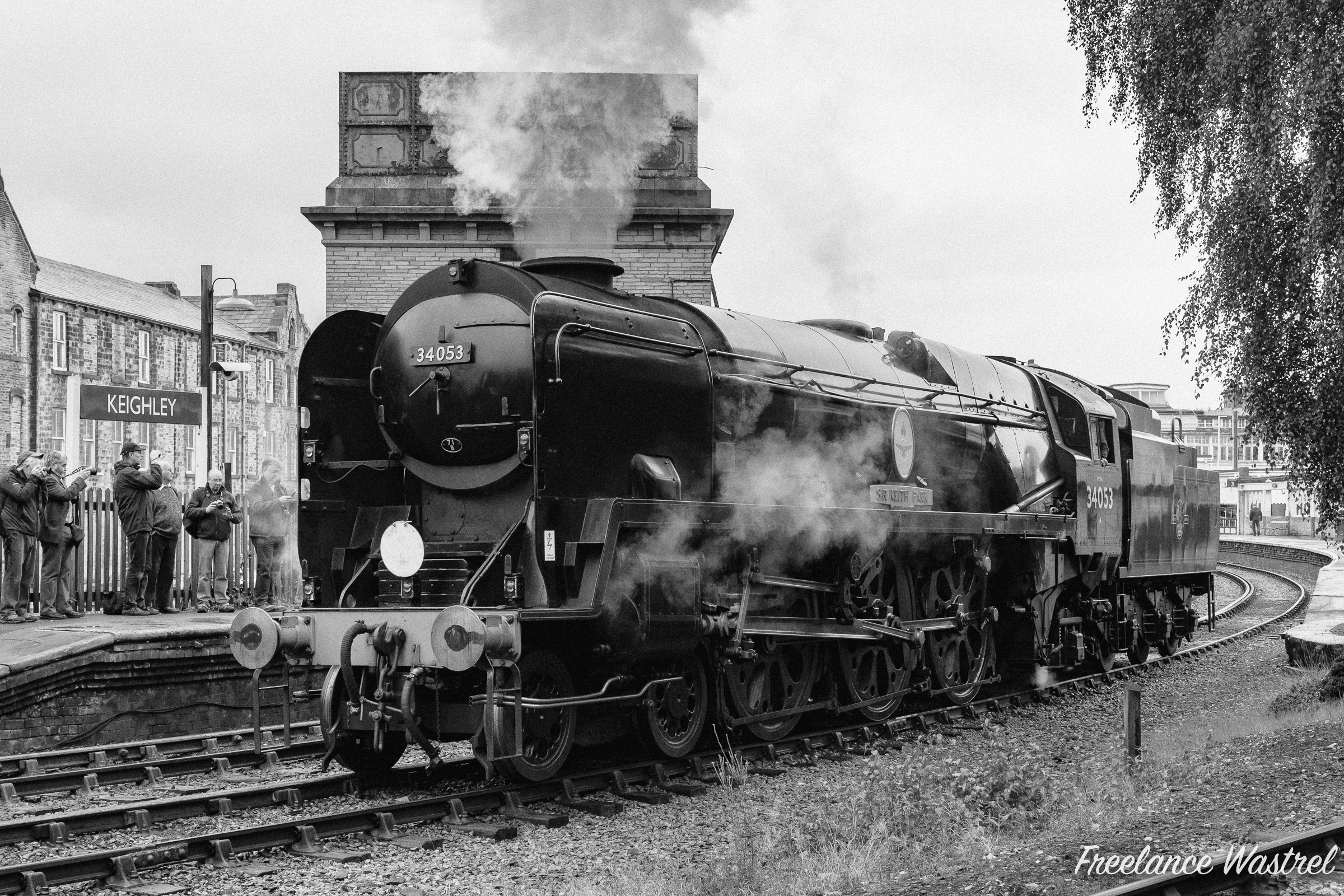 Southern Railway Battle of Britain class 4-6-2 34053 SIR KEITH PARK