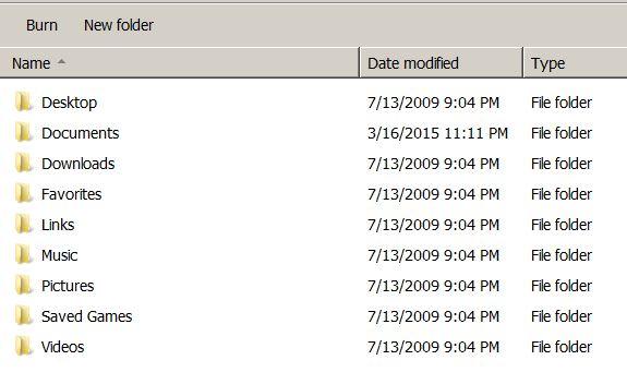 Windows 7 I can't delete temp files in User directory