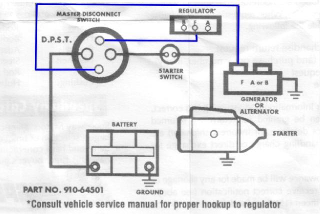 vw rabbit alternator wiring