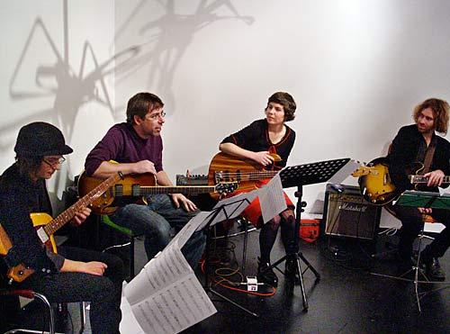 John Taylor Electric Guitar Quartet