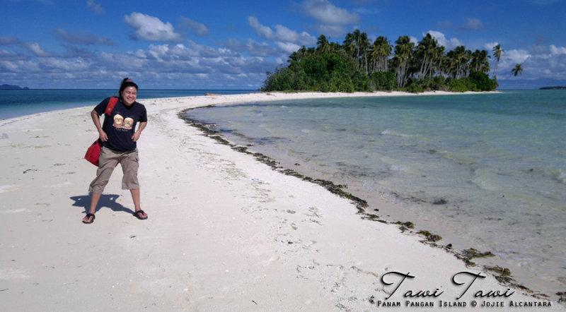 Jojie Alcantara in Panam Pangan Island