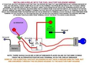 FC Fuel Shutoff Solenoid Modification Repair  Wanderlodge