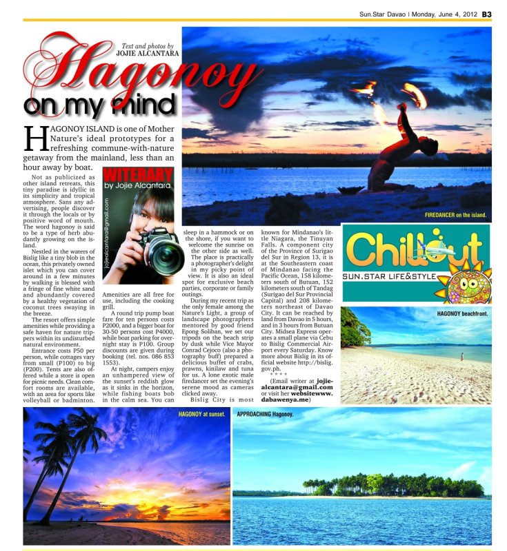 Hagonoy Island by Jojie Alcantara
