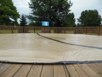 Closing Above-Ground Pool Without the Winter Cover