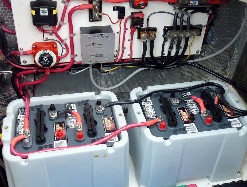 Wiring Batteries Parallel Boat