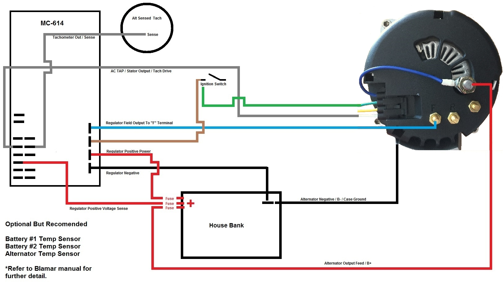 hight resolution of balmar alternator wiring diagram wiring diagram for you balmar alternator wiring diagram