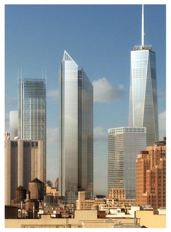 Greenwich Street - Proposed Wtc Tower #2 Norman