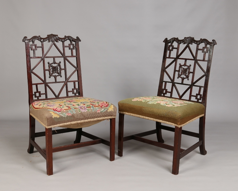 chinese chippendale chairs uk table 4 and bench style paul beighton auctioneers