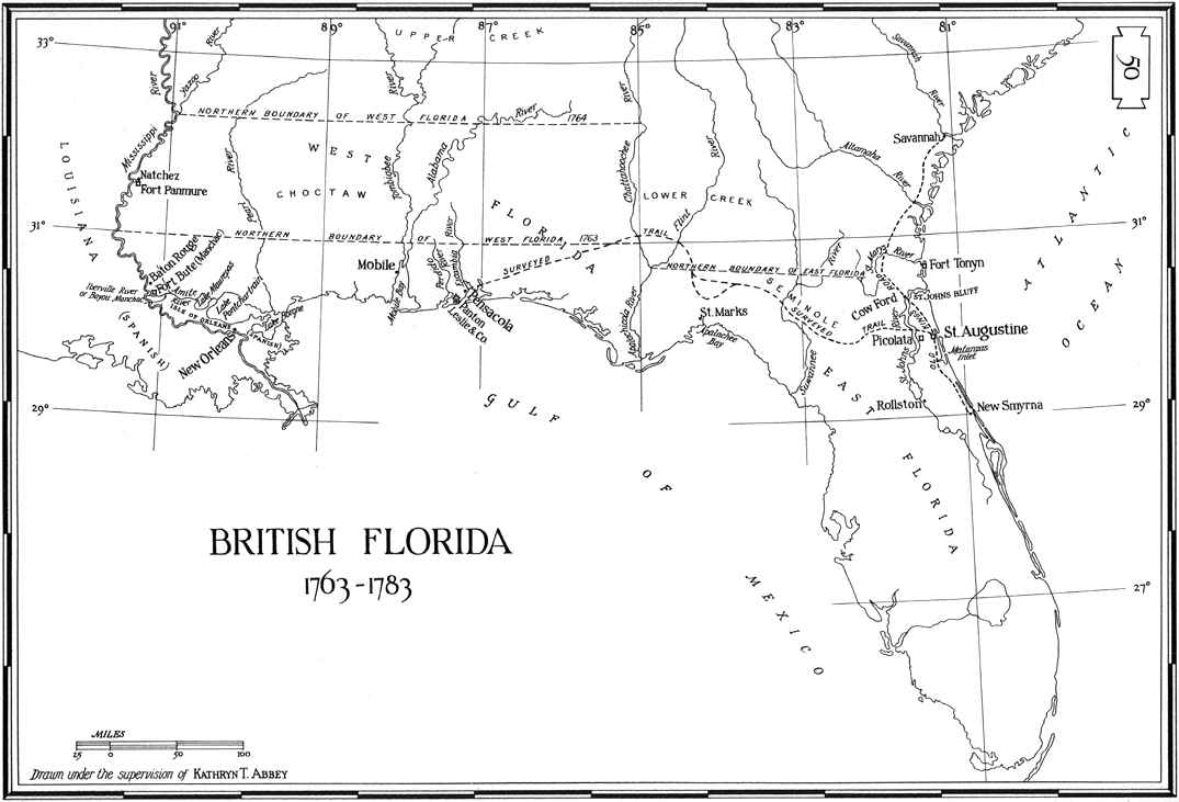 British Florida (Scroll Around!)