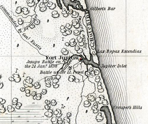 The Seminole War in Palm Beach County