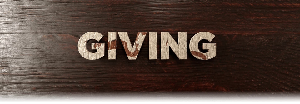 giving offering tithe