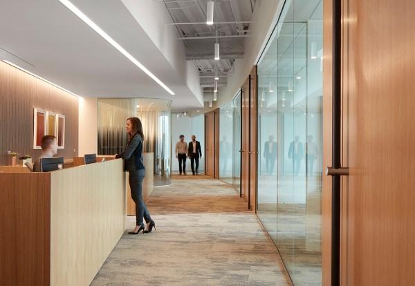 Mead Johnson Office Corridor Partners Design