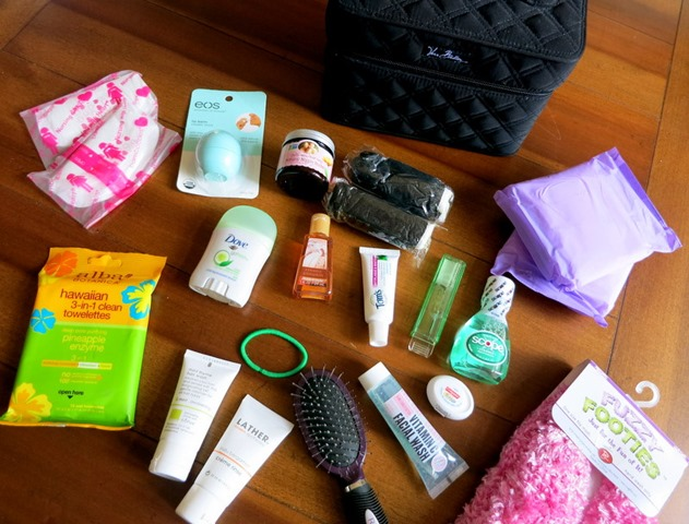 Baby Shower Gift: Hospital Essentials Bag