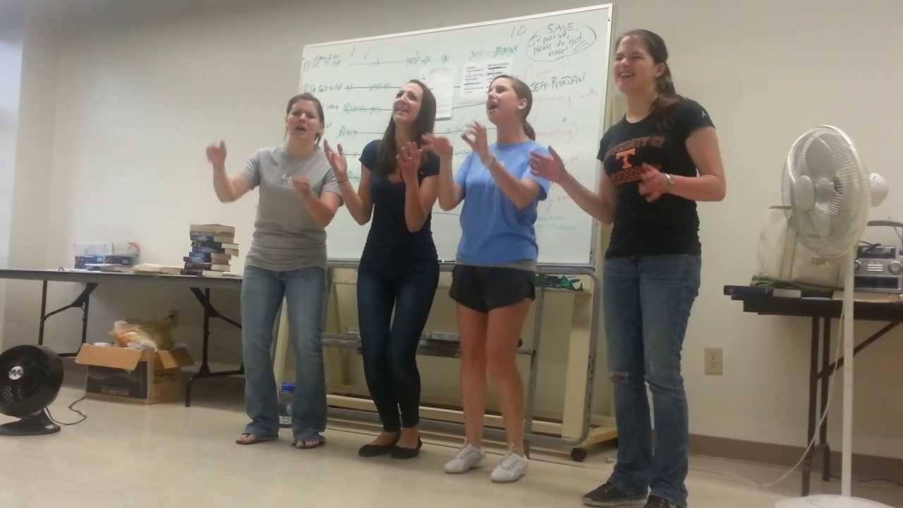 Towson Universitys Awesome Female Barbershop Quartet