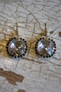 Crystal Pillow Cut Earrings | Earring | La Vie Parisienne