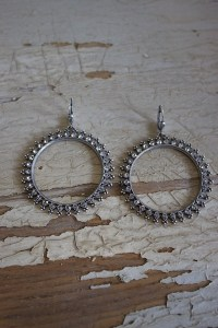 Round Rhinestone Earrings | Earring | La Vie Parisienne