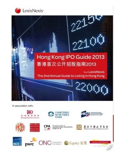 Hong Kong IPO Guide 2013 - Securities - Law