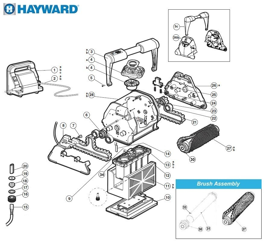 Hayward Aquavac Parts Diagram Las Vegas Diagram ~ Elsavadorla